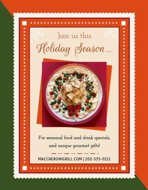 Holiday Season Flyer