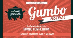 Gumbo Festival Facebook Post