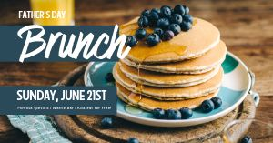 Father's Day Brunch Special Facebook Post