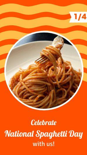 Spaghetti Instagram Story