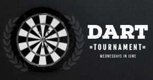 Dart Tournament Facebook Post