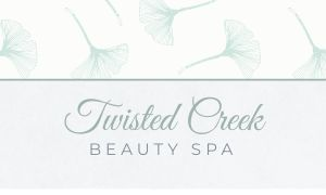 Elegant Spa Business Card