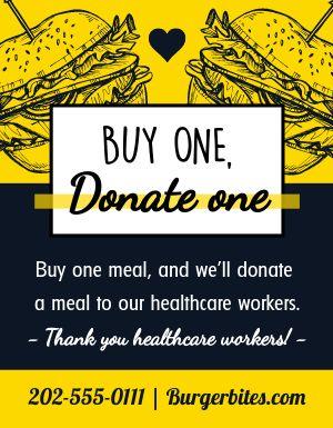 Donate Dinner Flyer
