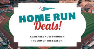 Baseball Deals Facebook Post