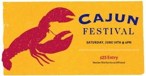 Cajun Festival Facebook Post