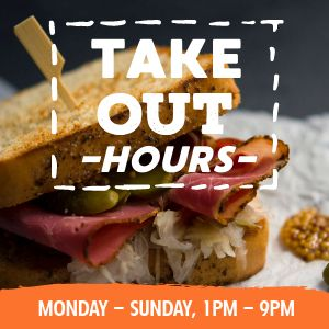 Takeout Open Hours Instagram Post