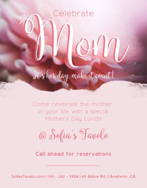 Her Day Mothers Day Flyer