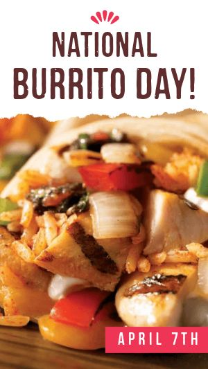 Burrito Day Facebook Story