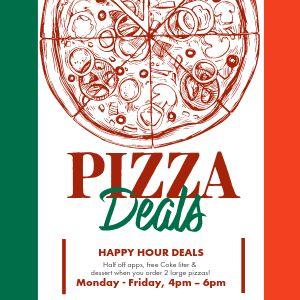 Italian Pizza Deal Instagram Post