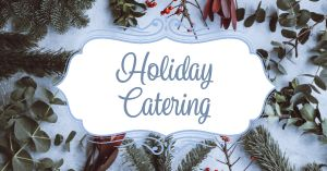 Holiday Catering Facebook Post