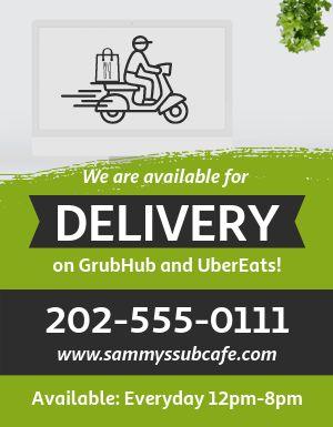 Delivery Specials Flyer