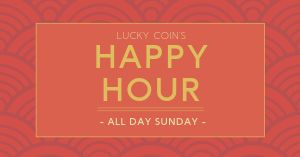 Chinese Happy Hour Facebook Post