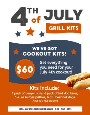 Holiday Grill Kits Flyer