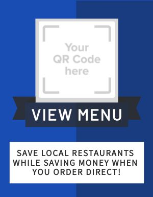 Order Direct Restaurant Flyer