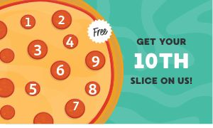 Pizzeria Punch Card