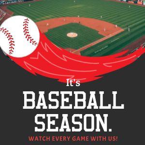 Baseball Season Instagram Post