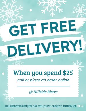 Winter Delivery Flyer