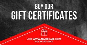 Gift Certificate Deal Facebook Post