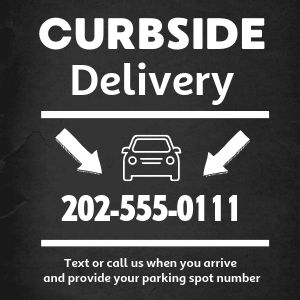 Curbside Delivery Instagram Post