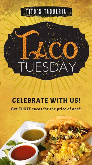 Taco Tuesday Facebook Story