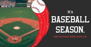 Baseball Season Facebook Post