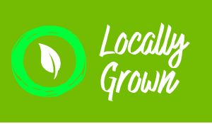 Grown Local Sticker