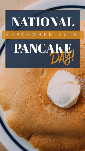 Pancake Facebook Story