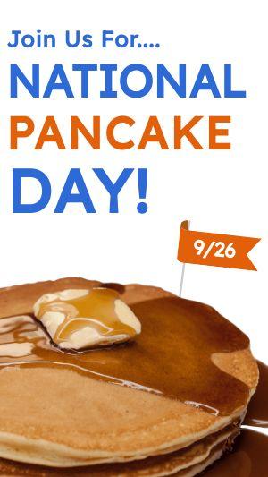 Pancake Instagram Story