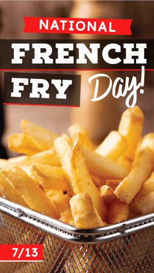 French Fry FB Story