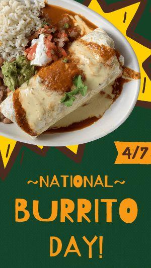 Burrito Facebook Story