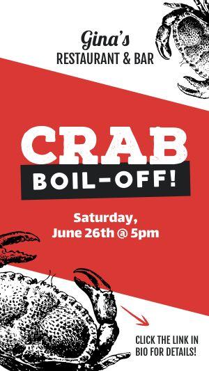 Crab Boil Facebook Story