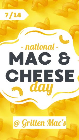 Mac and Cheese Facebook Story