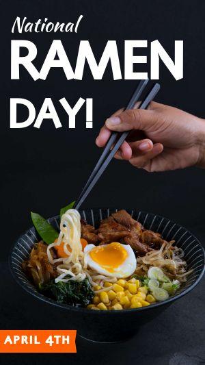 Ramen Day Facebook Story
