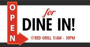Open Dine In Facebook Update