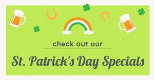 St Patricks Specials Facebook Post