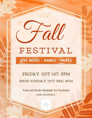 Fall Event Flyer
