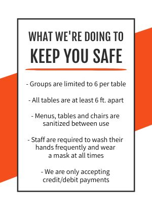 Safety Tabletop Display