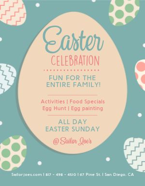 Kids Easter Flyer