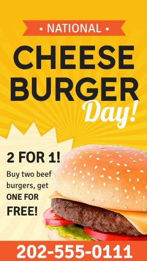 Cheeseburger Special Facebook Story