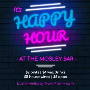 Happy Hour Neon Instagram Post