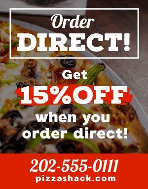 Direct Discount Flyer