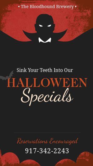 Halloween Specials FB Story