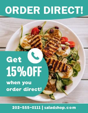Order Direct Info Flyer