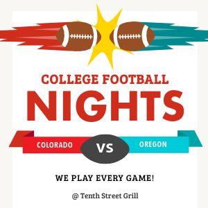 College Football Instagram Update