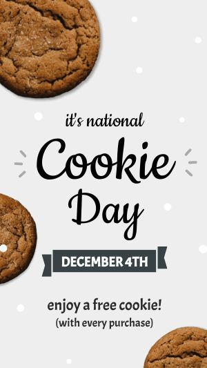 National Cookie Day Facebook Story