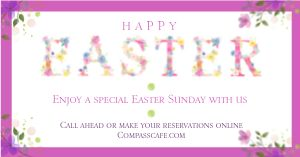 Easter Lunch Facebook Post