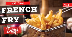 French Fry Facebook Update