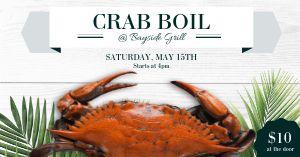 Crab Boil FB Post