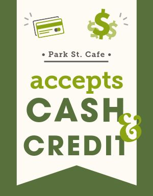 Payment Signage