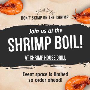 Shrimp Boil Instagram Post